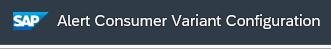 Alert management: mail notification